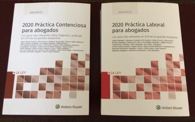 Presentación de la 'Colección Anuarios 2020 – Práctica para Abogados' de La Ley-Wolters Kluwer